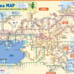 Kansai Thru Pass map