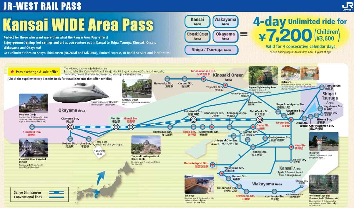 Kansai wide area