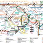 JR East Metropolitan Area route map