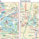 Osakacastle_tennoji_map