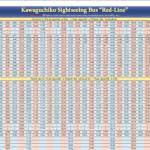 kawaguchiko retro bus timetable
