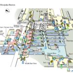 shinjuku Station map