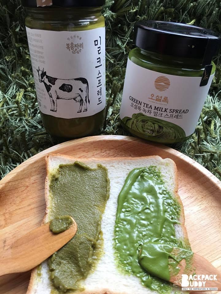 Green Tea Milk Spread Osulloc
