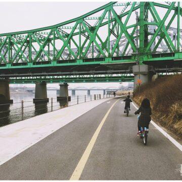 seoul bike | han river |bike rental in seoul